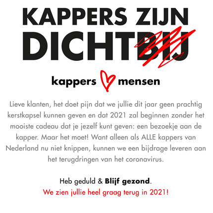 Kappers dicht 430